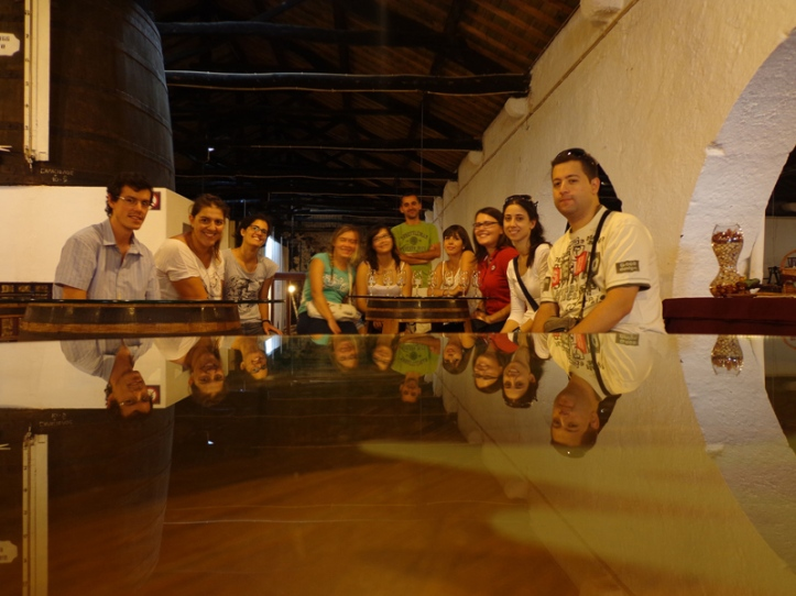 Wine-tasting in the Oporto Wine cellers (in Gaia waterfront)