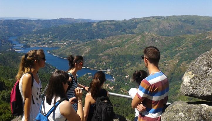 Gerês National Park, from Pedra Bela viewpoint